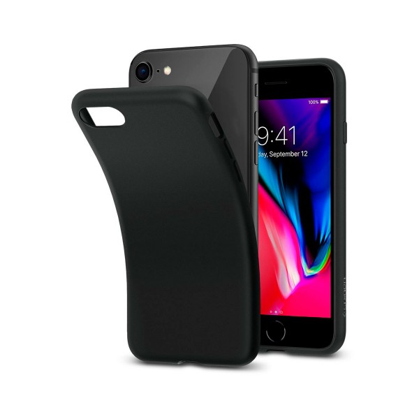 Jc carcasa mate negro apple iphone 7/8