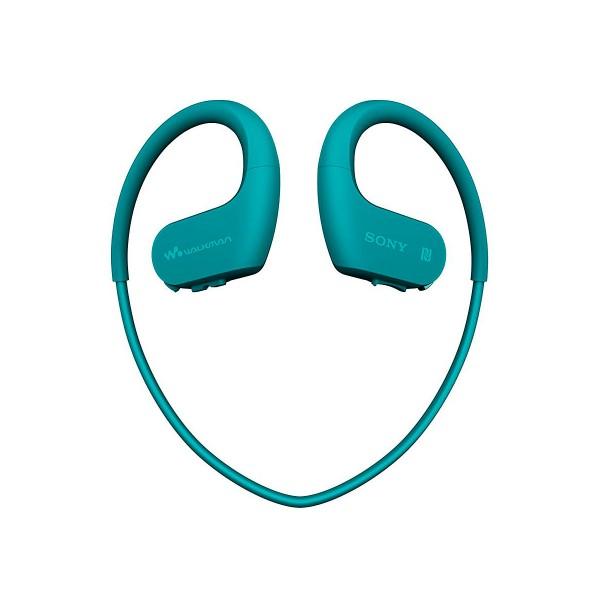 Sony nwws623 azul auriculares bluetooth resistentes al polvo y al agua salada