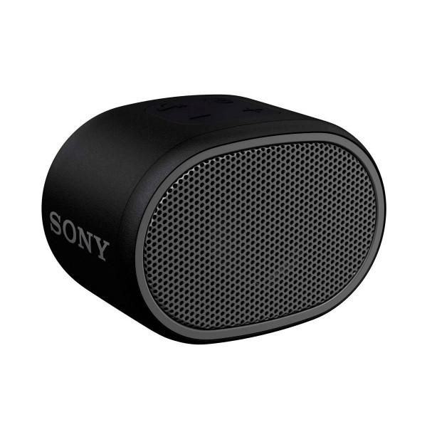 Sony srs-xb01 negro altavoz inalámbrico bluetooth aux micrófono extra bass y resistente al agua