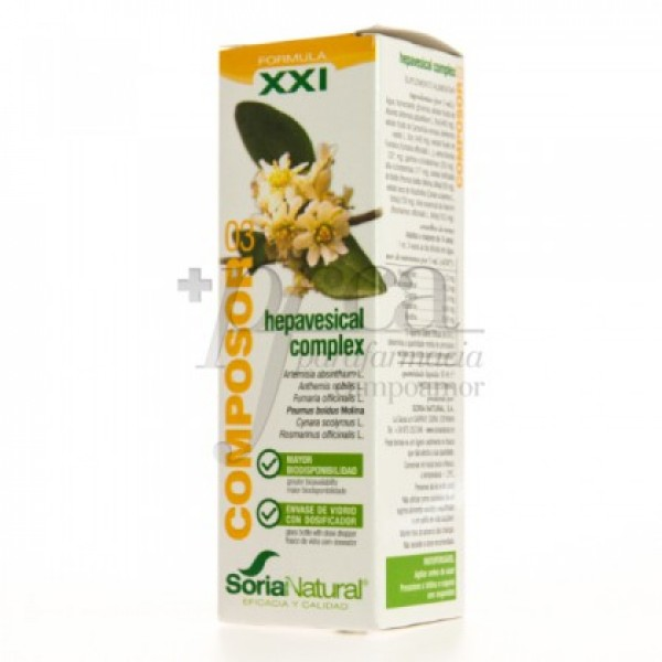 COMPOSOR 03 HEPAVESICAL COMPLEX XXI 50ML