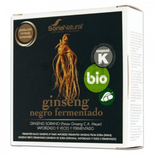GINSENG NEGRO FERMENTADO 24 CAPS SORIA NATURAL