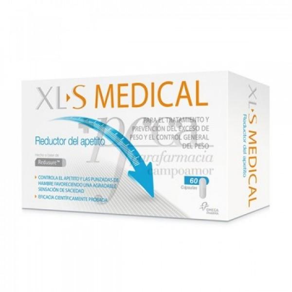 XLS MEDICAL REDUCTOR APETITO 60 CAPS