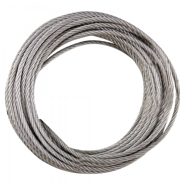 Cable acero galv.din3055 6x7+1  5mm.25m.