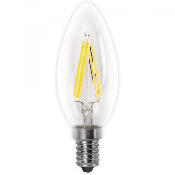 Bomb.led filament.vela clara e14 4w.fria