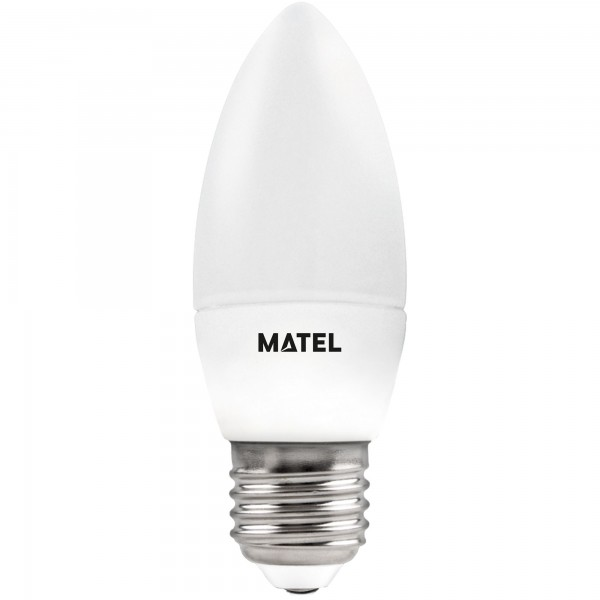 Bomb.led vela 3 intensid.e27 5w.fri