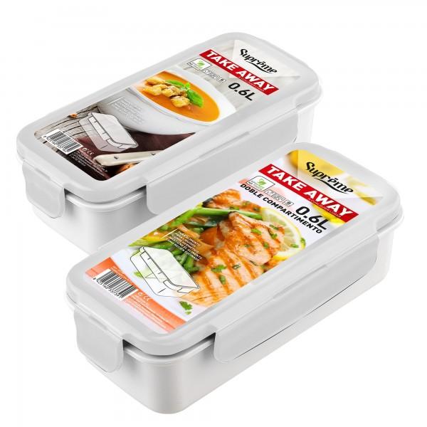 Contenedor bolsa porta-alimentos 0.6 l