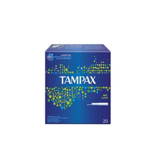 Tampax clasico super 20 unidades