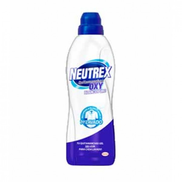 Neutrex quitamanchas oxy blanco puro 800 ml
