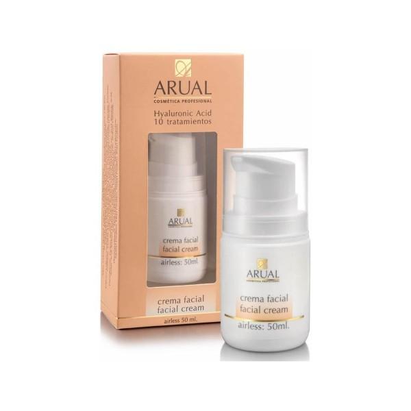 Arual crema facial hyaluronic acid 10 tratamientos 50ml