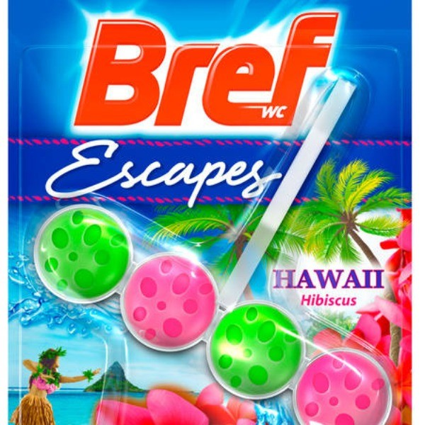 Bref WC Limpiador Escapes Hawaii Blister 1 u