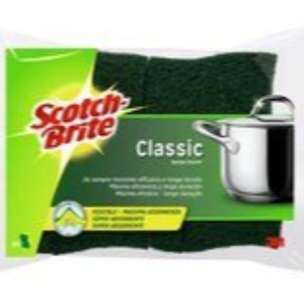 Scotch Brite Estropajo con esponja Classic Duplo
