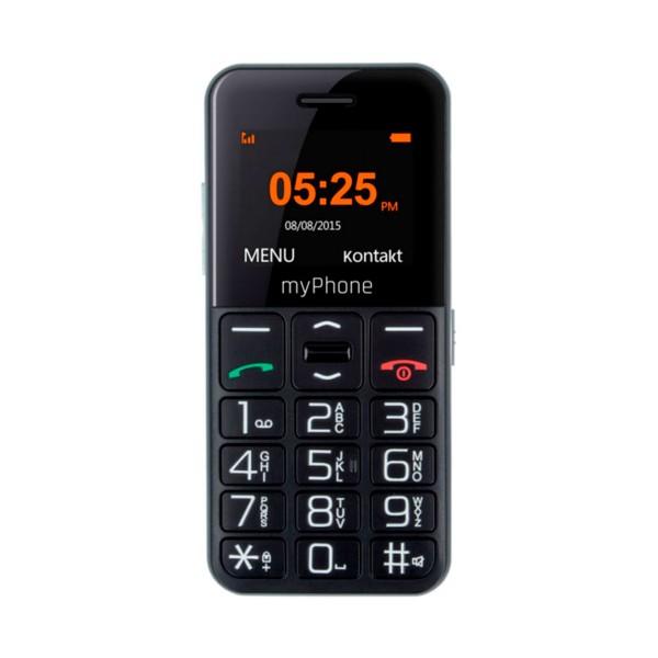 Myphone halo easy negro móvil senior 1.77'' cámara vga bluetooth