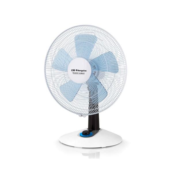 Orbegozo tf 0138 blanco ventilador de sobremesa 45w potencia 2 velocidades y 2 modos de funcionamiento aspas de 35cm
