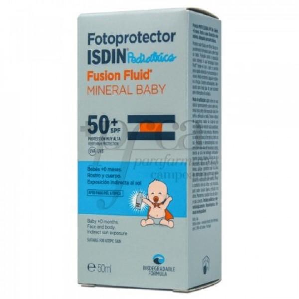 ISDIN FUSION FLUID MINERAL BABY SPF50 +0M 50ML