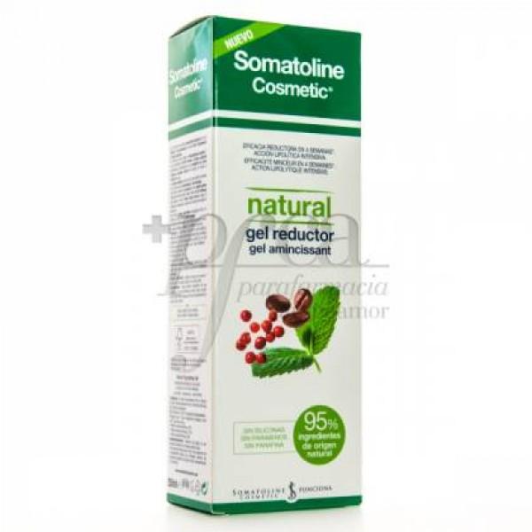 SOMATOLINE NATURAL GEL REDUCTOR 250ML