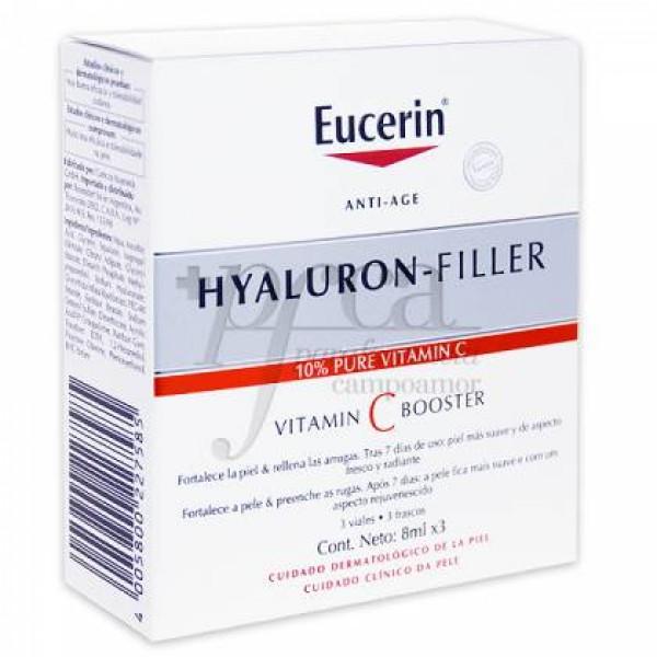 EUCERIN HYALURON FILLER VITAMIN C BOOSTER 3X8ML