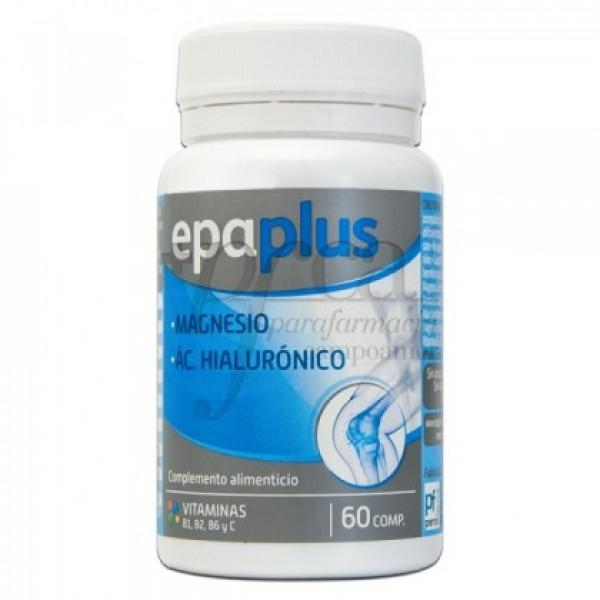 EPAPLUS MAGNESIO + AC HIALURONICO 60 COMPS