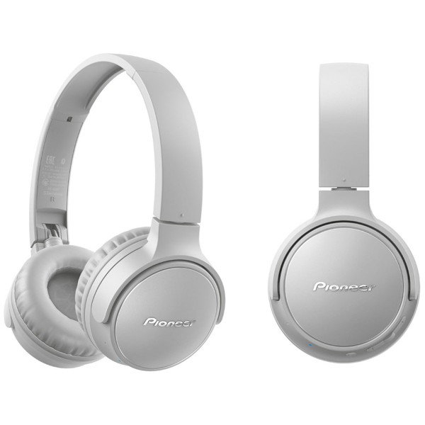 Pioneer se-s3bt gris auriculares on-ear inalámbricos s3 wireless manos libres