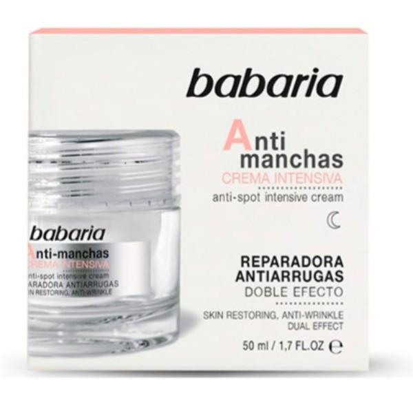 Babaria cara crema anti-manchas anti-arrugas 50ml