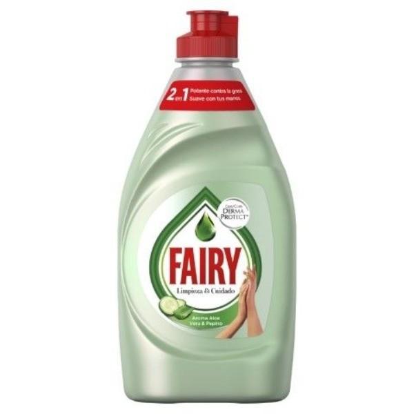 Fairy lavavajillas Aloe Vera & Pepino 340 ml