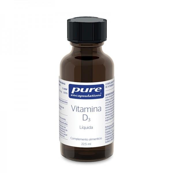 PURE ENCAPSULATIONS VITAMINA D3 LIQUIDA 22.5 ML