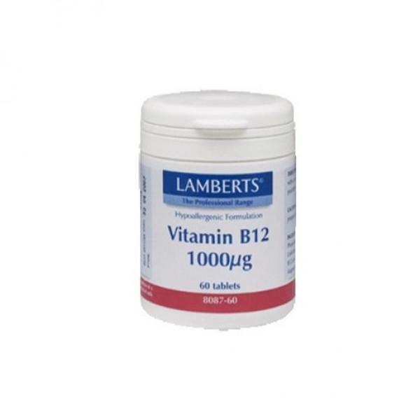 VITAMINA B12 1000MCG 60 COMPS