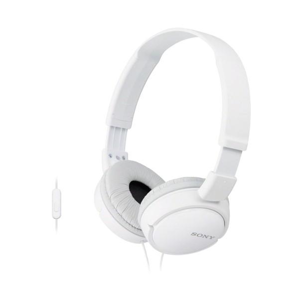 Sony mdrzx110ap auriculares hifi manos libres blanco