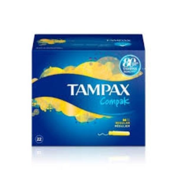 Tampax Compak  regular 22 u