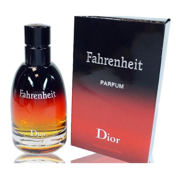 Dior fahrenheit parfum eau de parfum 75ml vaporizador