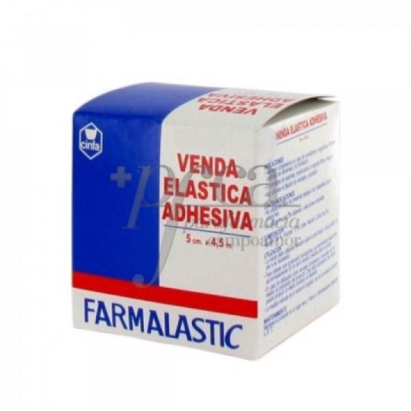 VENDA FARMALASTIC ADHESIVA 4,5 X 5