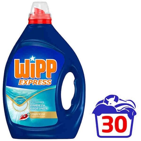 Wipp Express detergente Limpio&Liso 30 lavados