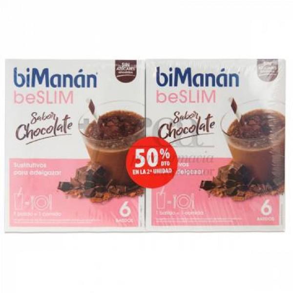 BIMANAN BS BATIDO CHOCOLATE 2X6U PROMO