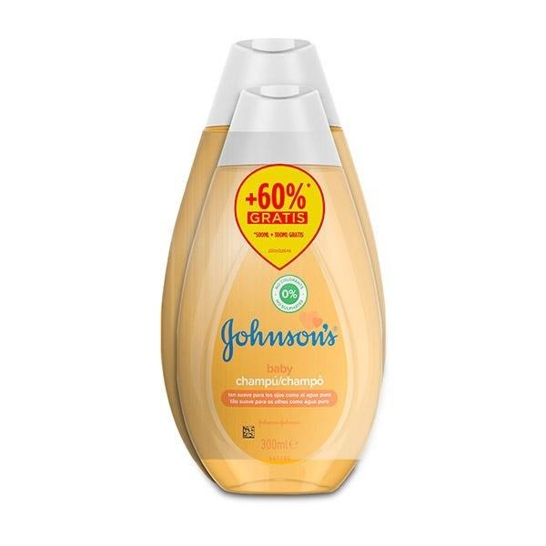 Johnson's Baby Champú Clásico 500 ml + 300 ml GRATIS