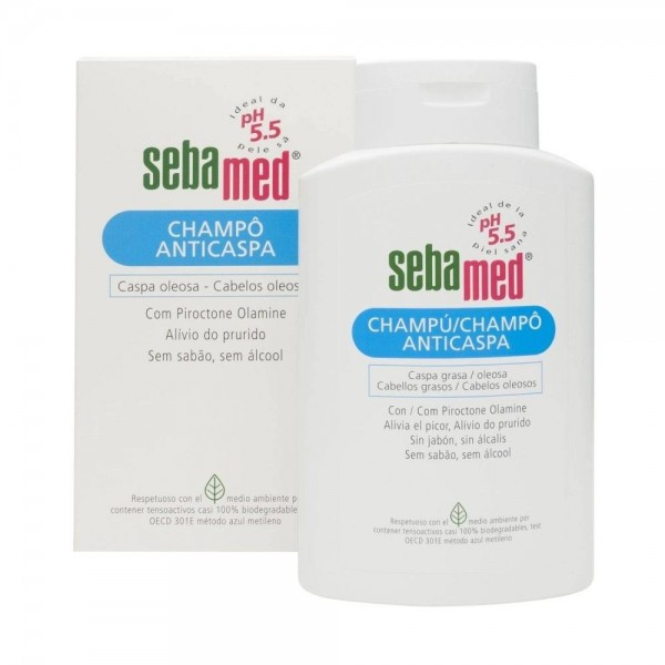 SEBAMED CHAMPU ANTICASPA 400 ML