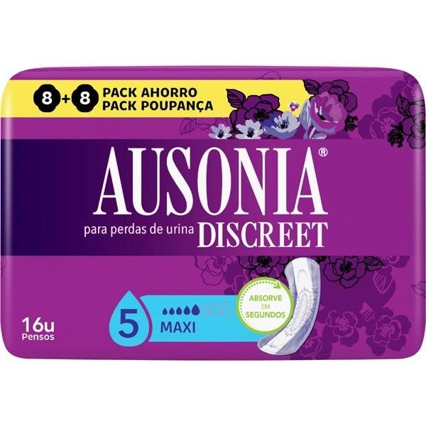 Ausonia Discreet compresas Maxi 8 uds 2 x 1