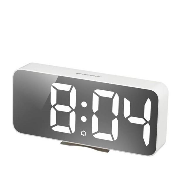 Bresser mytime echo fxl blanco / reloj despertador / termómetro